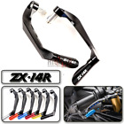 CNC Brake Clutch Levers Protection Handguard Guard for Kawasaki ZZR1400 ZX14R