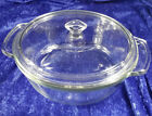 Anchor Hocking Clear Glass Covered 2 Quart 9