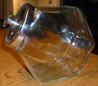 Small Vintage Six Sided Candy Jar with Lid