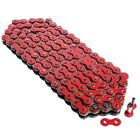 RED DRIVE CHAIN Fits HONDA GB500 Clubman 1989 1990