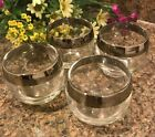 Dorothy Thorpe - MidCentury Modern - 4oz Roly Poly Glasses - SET OF FOUR