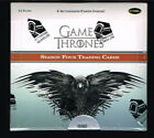 Game of Thrones Season 4 Hobby Trading Card Box Factory SEALED 2 autographs