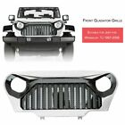97 06 TJ JEEP WRANGLER GLADIATOR VADER Angry Bi0rd Grill Gloss white