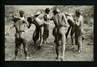 Nude postcard  Vintage Images  Series PC1545 Native American tribe dancing