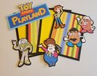 Disney Toy story playland scrapbook page set photo mats and die cut set