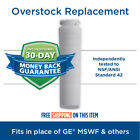 Tier1 RWF1062 GE Replacement Refrigerator Water Filter for GE SmartWater MSWF