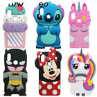 For Huawei P Smart 2019 Y6 2018 Xiaomi Note5 Cute 3D Cartoon Silicone Case Cover