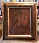 NORBERTO A REYES Native American HAND SIGNED Oil Painting MALE NUDE FRAMED AICA