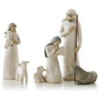 BLACK FRIDAY Willow Tree Nativity Figurines 6 piece set NEW
