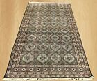 Distressed Hand Knotted Vintage Pak Jaldar Jhaldar Area Rug 5 x 3 FT (4440)