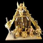 Fontanini Nativity 8 Piece Set with Stable 5 Scale Holy Family Italy Vintage