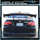 Adjustable GT 57 Inch 150CM Trunk Spoiler Wing & Leg Stand - Glossy Black ABS