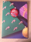 Vintage Hallmark Christmas Holiday Lapel Button Naughty Getting Worse on Card