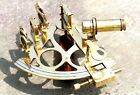 Maritime Collectible Brass Sextant Vintage Marine Ship Working Reproduction Item