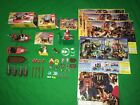 LEGO Pirate Islanders Lot of 3 Sets & Accesories Compasses Cannons Female Pirate
