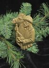 Solid Bronze Wiseman Ornament Christmas Tree Nativity Handcrafted