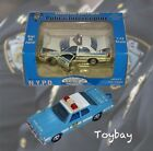 2 NYPD Police Cars Gearbox 1999 Ford Crown Vic Matchbox Super Kings Plymouth
