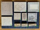 Wood Mounted Background  Misc Rubber Stamps for Scrapbooking and Stamping