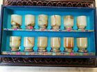 Old Chinese Estate House Antique 20th  White Jade 12xTea/Wine Cups Asian China
