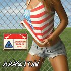Braxxton - American Rock 'N Roll CD Glam Hair Metal Cirkus