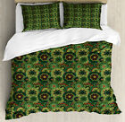 Mandala Duvet Cover Set with Pillow Shams Native African Culture Print