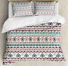 Tribal Duvet Cover Set with Pillow Shams Native Ethnic Artwork Print
