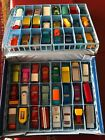 Vintage Matchbox Lesney Superfast in 48 car case 1968 Excellent Booklet