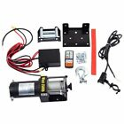 2500 Lbs Classic 12V Electric Recovery Winch Truck SUV Wireless Remote Control