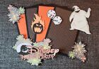 Halloween Disney Hallowishes scrapbook printed die cuts and photo mats Set 3