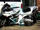 White Glossy ABS Fairing With Tank Cover Kit Fit HONDA CBR600F2 1991-1994 49 U1