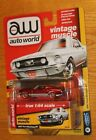 MINT 2018 AUTO WORLD Ultra Red Chase Premium Series 3 Ver B 1967 FORD MUSTANG GT