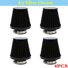 4x For 52-53-54mm Engine Inlet Motorcycle Air Filter Cleaner Large Displacement