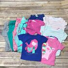 Carters Just One You Lot of Baby Girls Pajamas Sleepwear 2 Piece Shorts Tops 18M