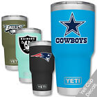 NFL Yeti cup decal sticker all team for tumbler RTIC Ozark Trail Stainless