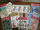 Vintage 80s 90s CHRISTMAS STICKERS LOT  STRAWBERRY SHORTCAKE Gift Tags
