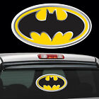 Diecut Vinyl Batman Logo Decal Sticker Comic Colored Batman Marvel Superman 3d