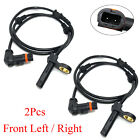2x Front ABS Wheel Speed Sensor For 2007 2011 Mercedes Benz S550 S600 2219055700