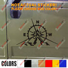 4x4 Off Road Compass Decal Sticker Mountain Car Vinyl Fit For Jeep Ford Chevy B