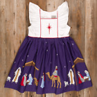 NEW 4 5 ELEANOR ROSE Silent Night Nativity Manger Jesus ADALYN Christmas Dress