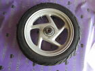 HONDA LEAD 110 NHX110 NHX FRONT WHEEL RIM TYRE USABLE STRAIGHT 12X2.50