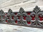 AUTUMN SALE!!! A Stunning Gothic Church Tracery Carved in wood circa 1880 (2)