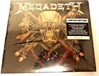 Megadeath LIMITED EDITION LINERS NOTES BY DAVE MUSTAINE +7 BONUS TRACKS 3-DEMOS
