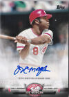 Joe Morgan 2018 Topps Autograph Reds Auto Legendary All Stars