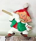 Hallmark Hark It's Herald Christmas Keepsake Ornament 1991 Elf Playing Flute