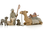 Willow Tree Shepherd and Nativity Animals NEW IN BOX NICE DECO