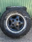 Landrover Discovery Defender 4x4 Off Road Mud Tyres Mickey Thompson