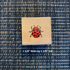Lil Ladybug Wood Mounted Rubber Stamp A385