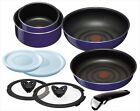 T Fal Pot Frying Pan Set Ingenio Neo Sapphire Set 9 L46693 From Japan F S NEW