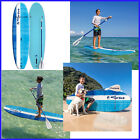 No TAX True Wave 8 Stand Up Youth Size Paddle Board Fin  Leg Leash Included