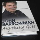 John Barrowman Anything Goes The Autobiography SIGNED  Inscribed